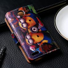 Luxury Painted PU Leather Cases For ZTE Blade Buzz V815W V 815W V815 815 W Case Cover Card Holders Bag Phone Wallet Flip Holster