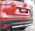 Задняя Крышка багажника из нержавеющей стали для задней двери отделка ворот для Mazda CX-5 CX5 2013