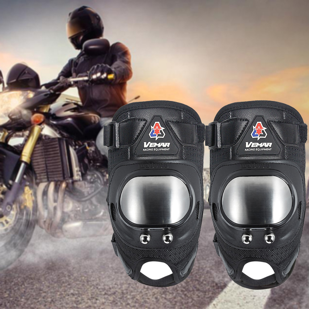 Drop Motorcycle Protective kneepad guard Motocross Knee Pads Shin protection Armor equipment Motor-Racing Guards Safety gears