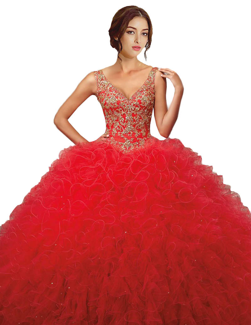 Compare Prices on Quinceanera Dresses Red and Gold- Online ...