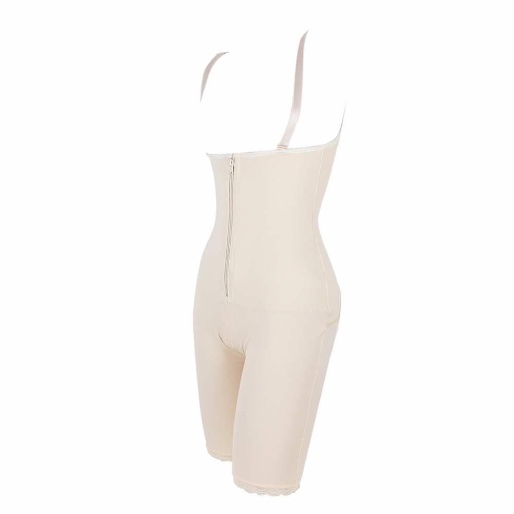 1d3c77b7bc Hot Shapers Zipper And Hook Corsets Latex Waist Trainer Body Shaper Cincher  Bodysuit Women Slimming Underwear Sashes Shapewear C-in Bodysuits from  Women s ...