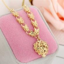 Золотое ожерелье с подвеской в форме сердца чокер короткое колье