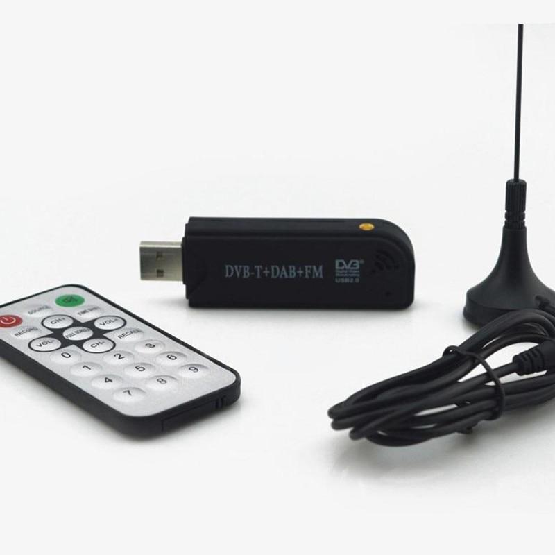 LNOP USB DVB-T & RTL-SDR Realtek RTL2832U & FC0012 DVB-T Tuner Receiver MCX Eingang