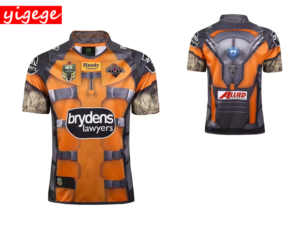 345bbcfaf5f Commemorative Edition Heroic version 2017 2018 WESTS TIGERS rugby Jerseys  League shirt Australia nrl jersey shirts