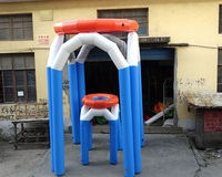 outdoor sport inflatable Basketball Casting Game