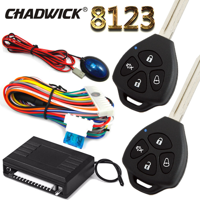 car keyless entry system for toyota corolla / camry remote control door central  lock locking system chadwick 8123 blank key type