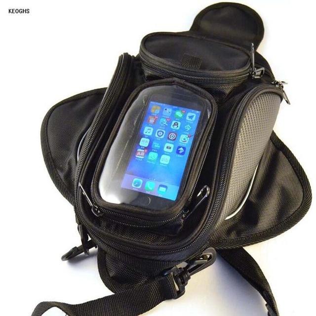 Oxford Cloth Waterproof Motorbike Motorcycle Tank Bag Magnetic Luggage Bags Free Shipping