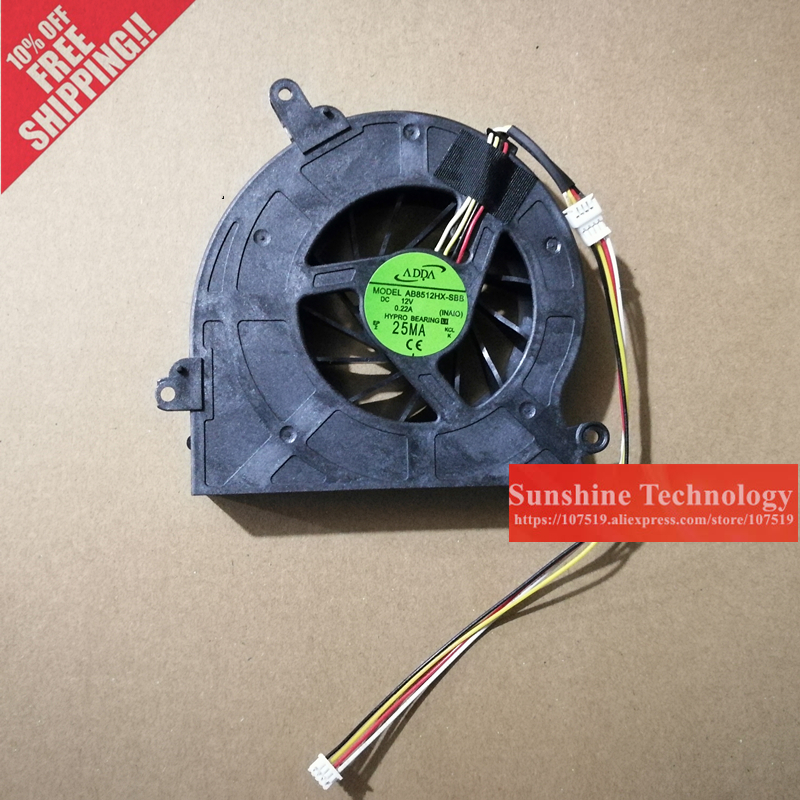 Brand new laptop cpu fan for tongfang V41 v41-02 MS-A221 AB8512HX-SBB