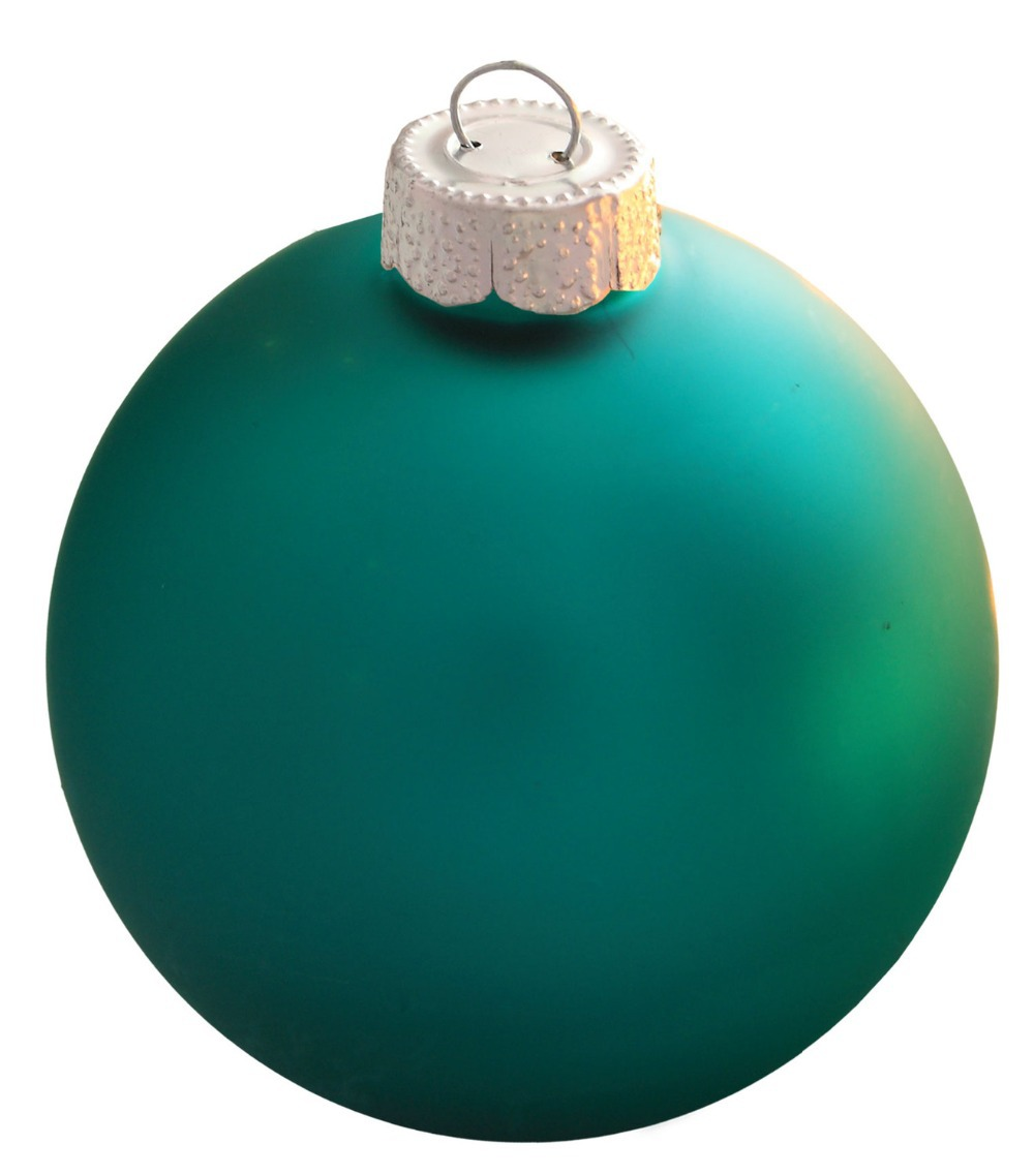 free shipping event party wedding bauble ornaments christmas xmas tree balls decoration mm turquoise ball ornament