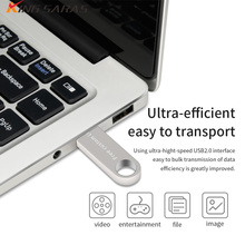 usb flash drive Waterproof pen 64GB/32GB/16GB/8GB/4GB new Memoria stick METAL USB 2.0 Key U Disk gift free custom logo
