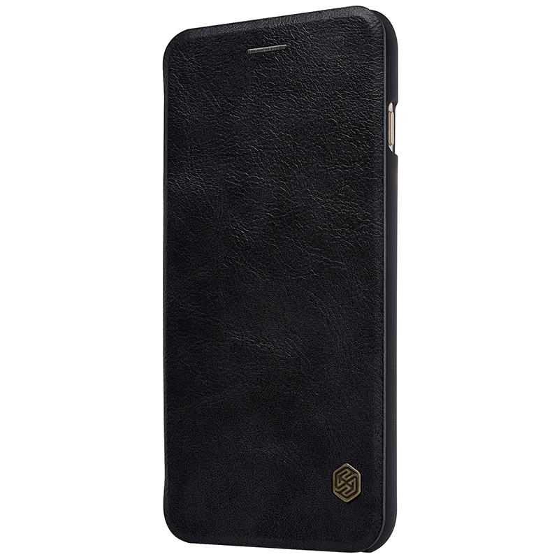 NILLKIN För Apple iPhone 7 Plus Väska Högkvalitativt läderfodral - Reservdelar och tillbehör för mobiltelefoner - Foto 5