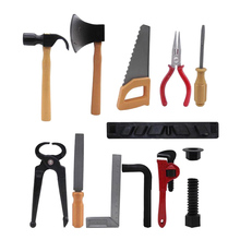 Игрушка для детей Детский подарок для дошкольников 14 шт. пластиковый молоток, ключ, набор инструментов для ремонта, отвертка Горячая