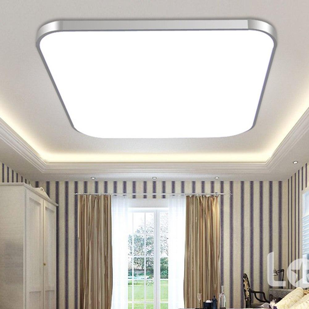 Hot LED Ceiling Down Light Lamp 24W Square Energy Saving For Bedroom Living Room PLD
