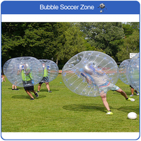 4.9(ft) 1.5m Inflatable Bubble Soccer Ball Bumper Ball Inflatable Zorb Balloon Fun Games Adult Bouncing Ball Soccer Ball