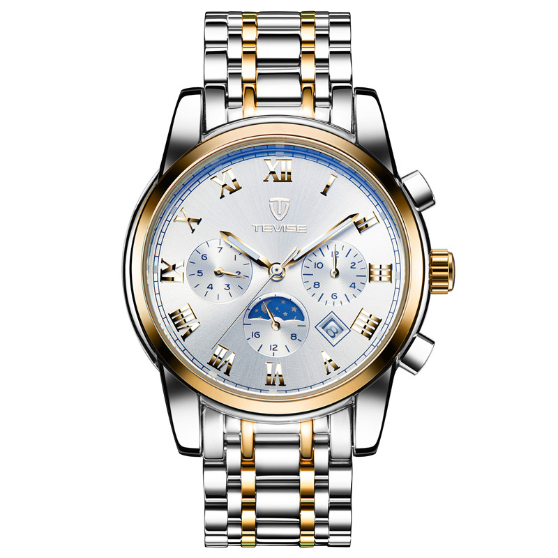 Men Watches Top Brand Luxury TEVISE Automatic Mechanical Watches Moon Phase Steel Clock Mens Wristwatches Relogio Masculino (22)