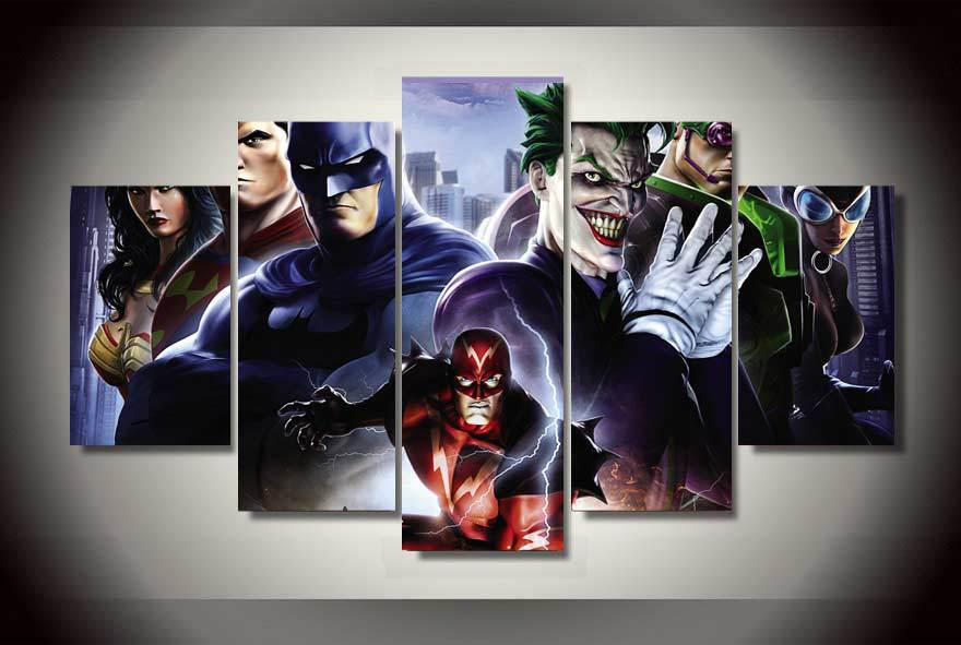 Aliexpress Com Buy High Quality No Frame Hd Printed Dc Universe Online Lex Luthor Painting On Canvas Room Decoration Print Poster Picture From Reliable