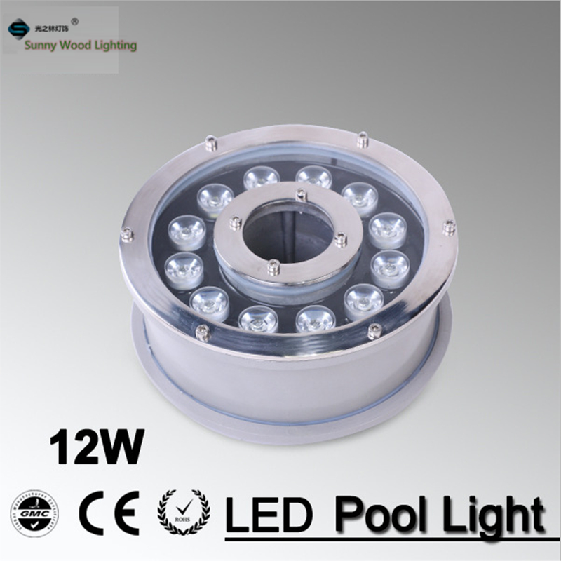 IP68 RGB LED fountain light ,LED pool light ,Led underwater light 12W 12VAC,LED Landscape light for Pole , LPL-B-12W-12VAC high power led pool light free shipping ip68 fountain light 6w 24v ac led underwater light lpl b 6w 24v