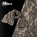 AA Shield Camo Tactical Scarf Outdoor Military Neckerchief Forest Hunting Army Kaffiyeh Scarf Light Weight Shemagh ACU