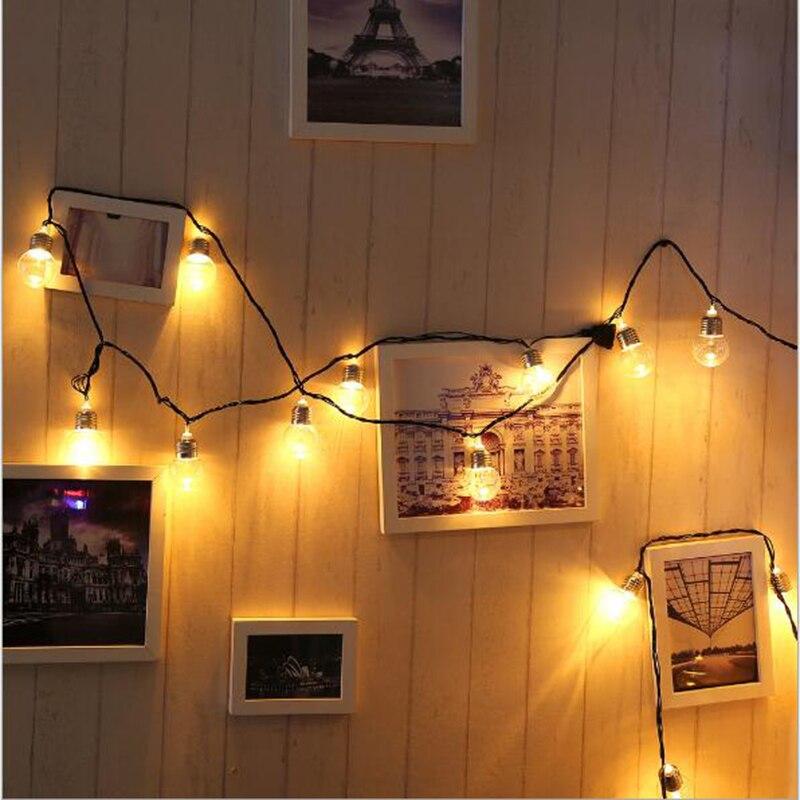 5M 5cm stor glödlampa Led hänglampa glödlampa ljussträng ljus med - Festlig belysning - Foto 2