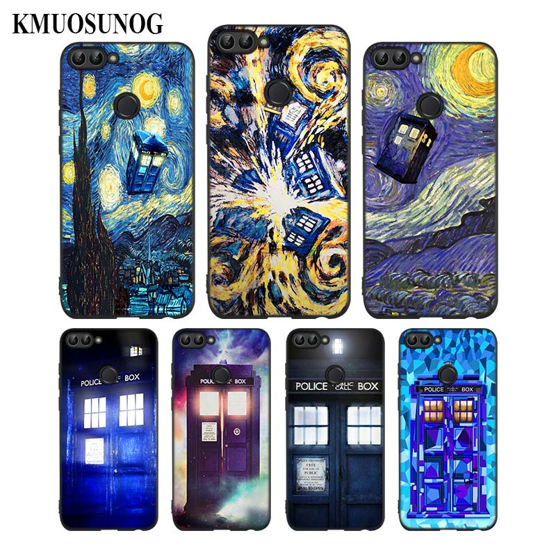 Cellphones & Telecommunications For Huawei P8 P9 P10 P20 P30 Pro Lite P Smart Plus Y6 Y9 2019 Black Soft Silicone Phone Case Tardis Box Doctor Who Style Structural Disabilities