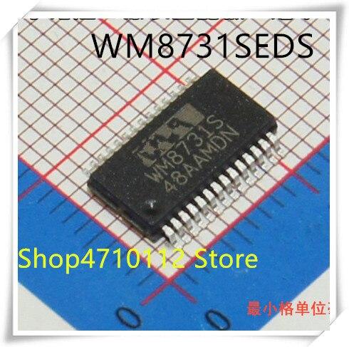 NEW 10PCS LOT WM8731S WM8731 WM8731SEDS SSOP 28 IC
