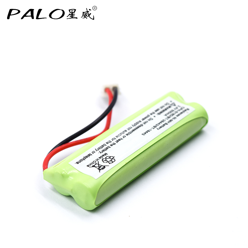 PALO New 2.4v 500mAh High Quality High Efficiency Low-energy Replaces Ni-MH Rechargeable Battery for CPH-518D/BT-28443/BT-18443 коляска прогулочная gb beli air 4 capri blue