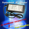 42W 14V 3A 6.5*4.4MM Replacement For Samsung Laptop AC Charger Power Adapter Input 100-240V free shipping