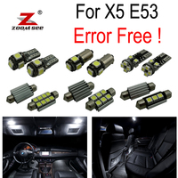 21pc X Canbus For BMW X5 E70 X5 M XDrive30i XDrive35d XDrive35i XDrive48i XDrive50i LED Interior