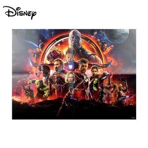 Image 2 - Disney Marvel Toy Puzzle Avengers 500 Piece Paper Puzzle Adult Parent child Cooperation Puzzle