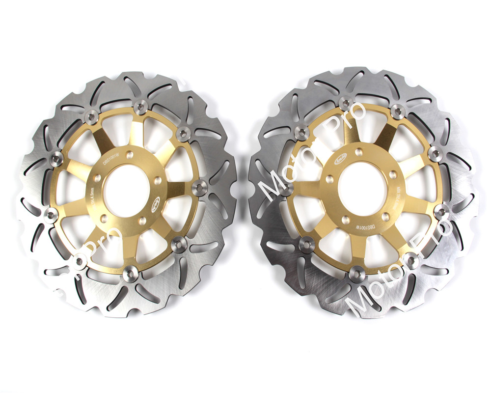 For SUZUKI GSX 600 F 1998 - 2003 1999 2000 2001 2002 GSF BANDIT S 600 2004 Motorcycle Front Brake Disc Disk Rotor GSX750F 750