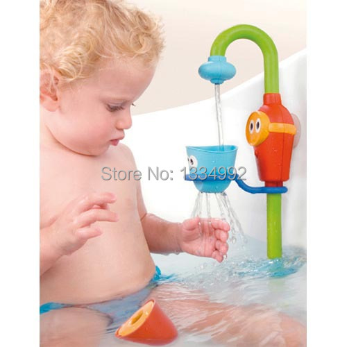 Charmant New Design Kids Shower Toys Baby Bath Toys Automatic Spout Play  Taps/buttressed Folding Spray Showers Children Birtthday Gift In Bath Toy  From Toys ...