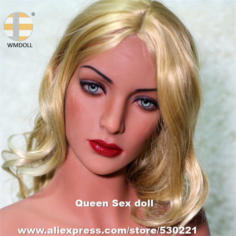 WMDOLL Top Quality Sexy Head For Real Silicone Sex Dolls Japanese Oral Love Doll Oral Realistic Toys For Men top quality oral sex doll head for japanese realistic dolls realdoll heads adult sex toys