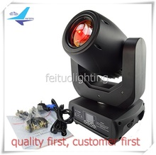 dj moving head  lyre led avec gobos 150w led moving head moving spot 150w led with flight case