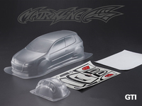 1set GOLF GTI drift RC PC body shell 190mm width Transparent clean no painted drift body RC hsp hpi traxxas Tamiya
