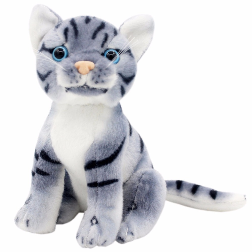 JESONN Пълнени Животни Котки Плюшени меки играчки за детски подаръци