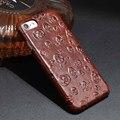 Para iphone 6 s plus verdadeiros casos de couro para iphone 7 & mais tampa traseira rover mar de grãos para o iphone se 5 s corium cobrir 6 s caso