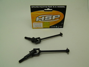 Wholesale 5Pair/Lot HSP Upgrade Parts 108015 (08046) Universal Dogbone Shaft Joint For 1/10 RC 4WD Off Road Monster Truck 94108 universal drive shaft dogbone 112 152mm