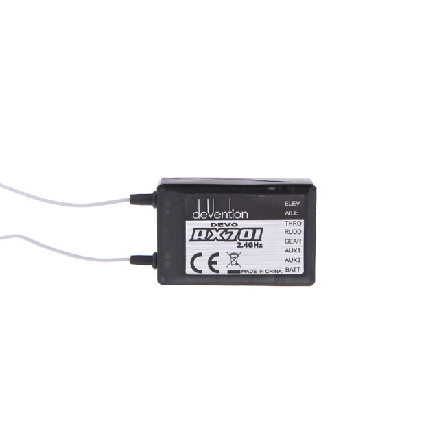 Walkera Part RX701 2.4Ghz 7ch Receiver RX-701 For Walkera Devo 6 7 8s 12s F7 Transmitter RC Helicopter Aircraft F03392