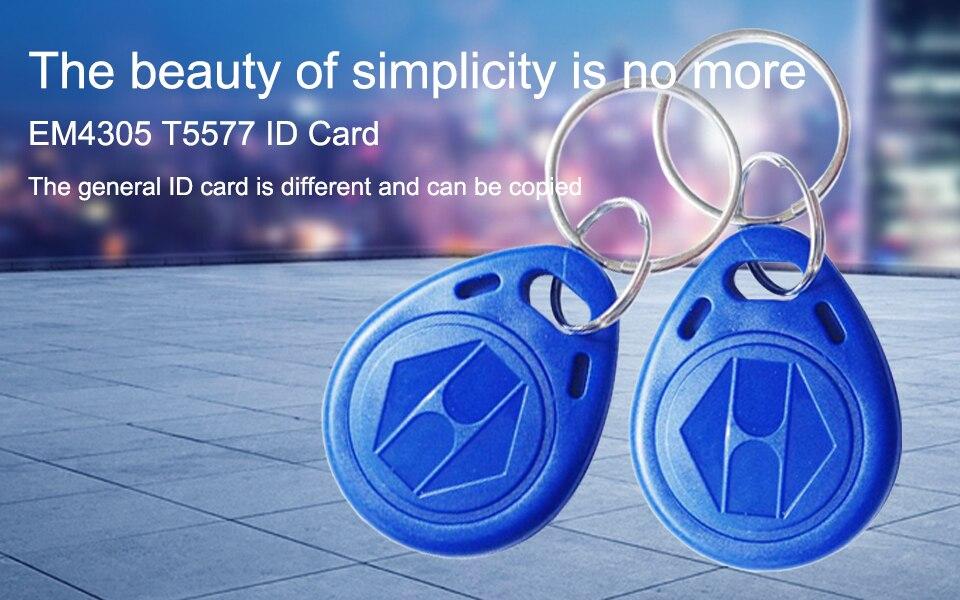 Shop 5pcs/EM4305 T5577 Duplicator Copy 125khz RFID Tag