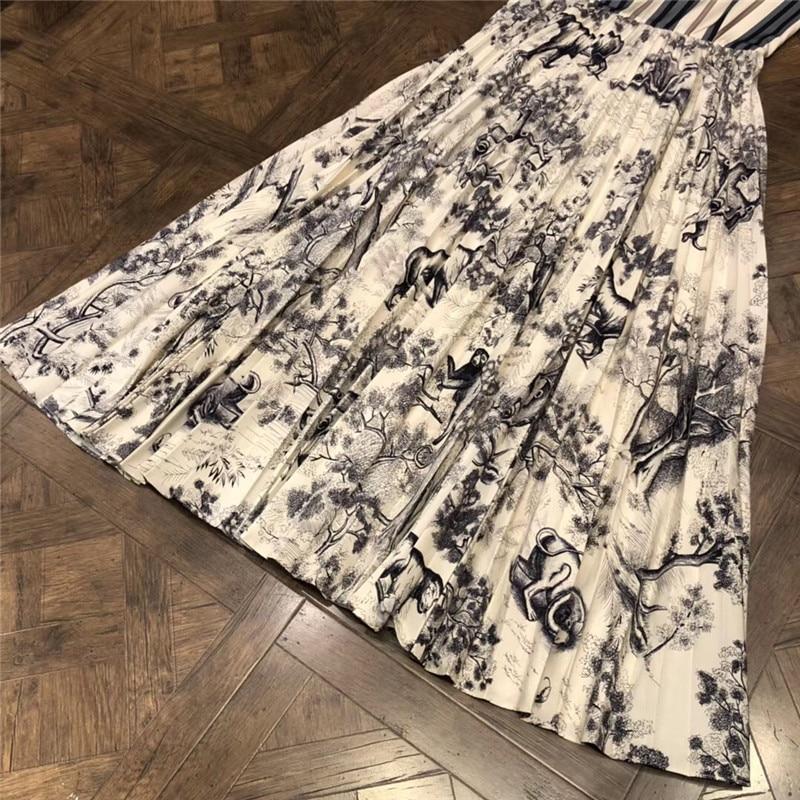 Dame Élégant kaki A Femmes Manches Parti Pour Mode 2018 Ardoisé Robe O cou ligne Automne Sans Longue OvaXF