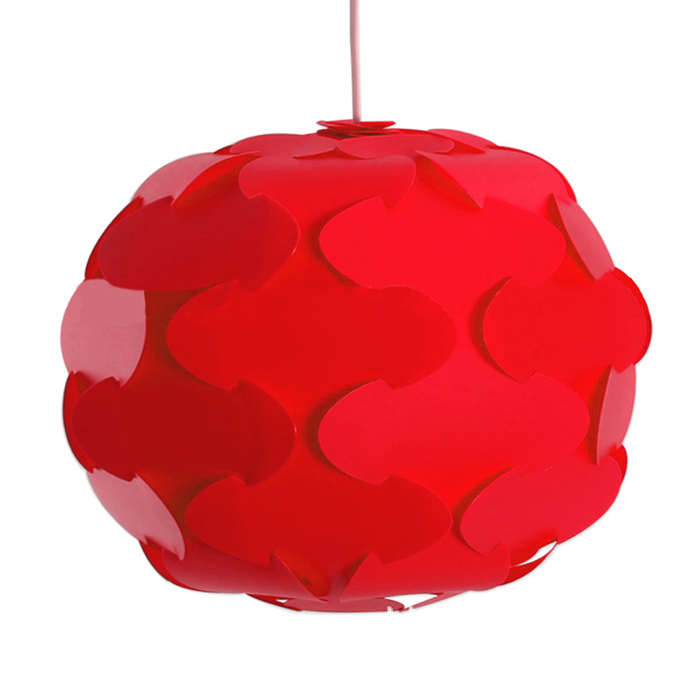 12pcs 38cm promotion pp diy modern pendant ball novel iq lamp shade 12pcs 38cm promotion pp diy modern pendant ball novel iq lamp shade jigsaw puzzle pendants lights led ceiling lampshade for bar in pendant lights from mozeypictures Images