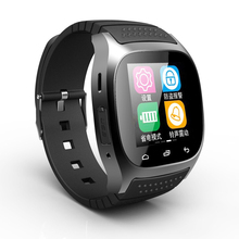 Smartwatch M26 Sport Bluetooth Smart Uhr Mit LED Alitmeter Musik-player Schrittzähler Für Apple IOS Android Windows Smart Phone