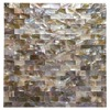 Peel And Stick Mother Of Pearl Shell Mosaic Tile For Kitchen Backsplashes 12 X 12 Coloful