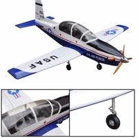 T 6A Texan 78 7 30cc 8 Channels Oracover Film Large Scale RC Balsa Wood Model