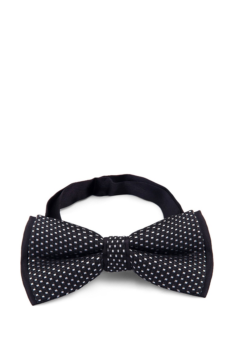 [Available from 10.11] Bow tie male CASINO Casino-poly-black 508.6.12 Black bow tie pleated frill placket blouse