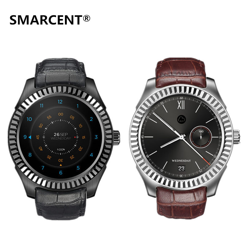 SMARCENT D7 Smart Watch RAM 1GB + ROM 8GB Android 4.4 SIM Smartwatches 500mAh GPS WIFI 3G Bluetooth 4.0 Wearable Clock Devices smart baby watch q60s детские часы с gps голубые