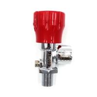 PCP Paintball ON/OFF Valves M18x1.5 High Pressure Cylinder Carbon Fiber Tank Din Valve Fill Station 300bar 4500psi G5/8 Female