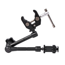 Articulated-Arm Video-Camera Led-Light DSLR Mounting-Hdmi-Monitor Adjustable Magic Super-Clamp