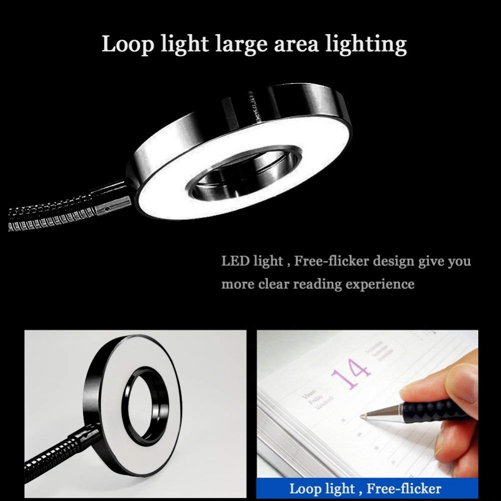 Clip On Light Eye Care Desk Lamp Portable Book Bed Headboard And Computers Gooseneck Usb Plug In Lamps From Lights Lighting