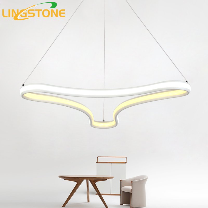 led pendant lamp hanglamp modern light remote control hanging restaurant bar ceiling chandelier. Black Bedroom Furniture Sets. Home Design Ideas